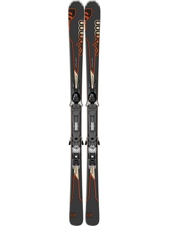Горные лыжи с креплениями Salomon Enduro XT 850 + Z12 B90 Bk/Or 12/13