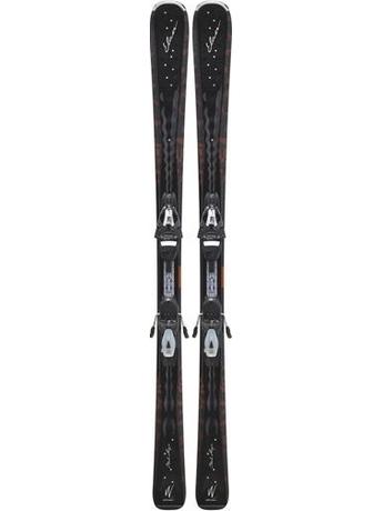 Горные лыжи с креплениями Elan Black Magic QT + ELW 9.0 11/12