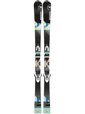 Горные лыжи Rossignol Unique 2 + крепления Xelium 100 15/16