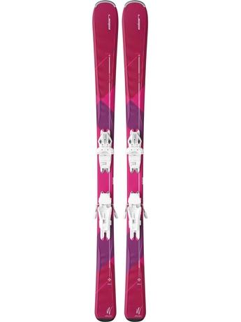 Горные лыжи Elan Zest LS + крепления ELW 9.0 16/17