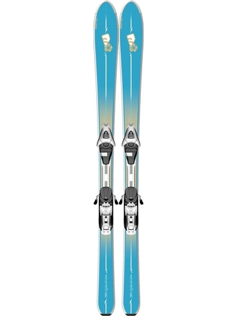Горные лыжи с креплениями Salomon BBR Skylite + E L9 B80 Lgtblue 12/13