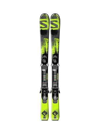 Горные лыжи Salomon Q-Max Jr S + EZY5 14/15