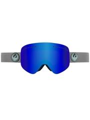 Маска Dragon NFX Grey Matter / Dark Smoke Blue + Yellow Blue Ionized