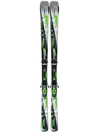 Горные лыжи с креплениями Elan Waveflex 8 Green QT + EL 10 12/13
