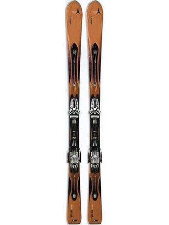 Горные лыжи Atomic D2 VF 75 orange + крепления NEOX TL 12 10/11