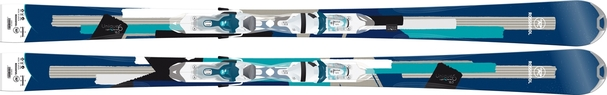 Горные лыжи Rossignol Unique 6 + Xelium Saphir 110 (14/15)