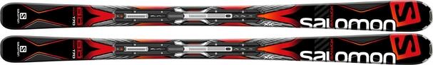 Горные лыжи Salomon X-Drive 8.0 (163) + крепления XT10 (15/16)