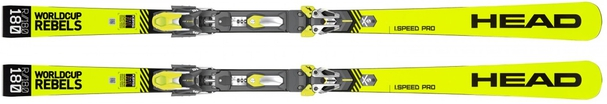 Горные лыжи Head Worldcup Rebels i.Speed Pro + крепления Freeflex EVO 16 (19/20)