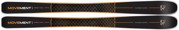 Горные лыжи Movement Revo Titanal 91 + крепления Freeski 110 (18/19)