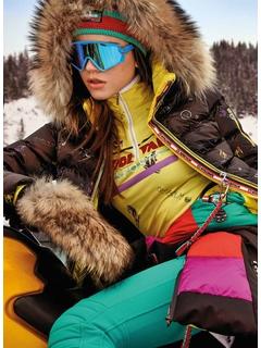 Куртка с мехом Sportalm Kyla Druck SU m K+P