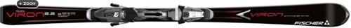 Горные лыжи Fischer Viron 2.2 black Powerrail + крепления RS10 (10/11)