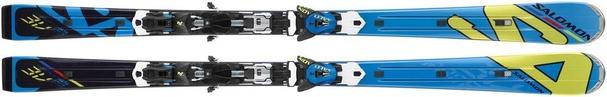 Горные лыжи Salomon 3V Race Powerline (165) + крепления Z14 Speed (12/13)
