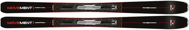 Горные лыжи Movement Revo RT Titanal 86 + крепления FDT 11 (18/19)
